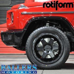 W463A rotiform SIX-OR 20inch 9J Wheel x4 boltset